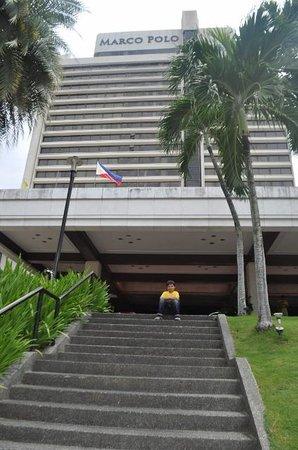 Marco Polo Plaza Cebu : Marco Polo Entrance