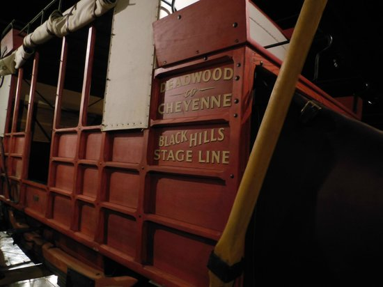 Days of '76 Museum: old time wagon