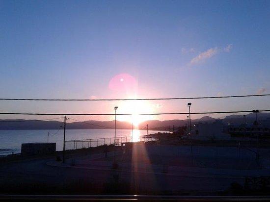 Nautilus Bay Hotel: Sonnenaufgang vom Balkon