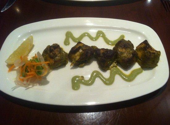 Indali Lounge: Kandhari Chicken Malai Tikka