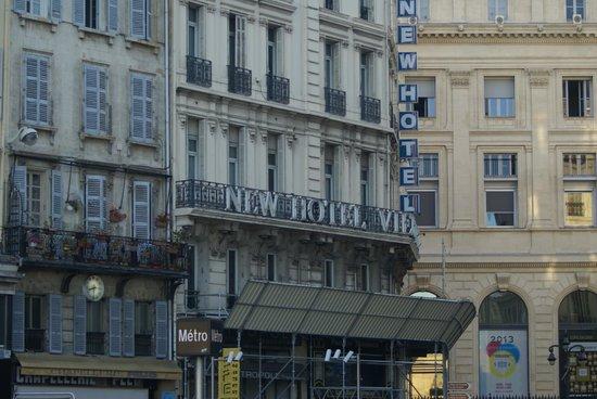 New Hotel Vieux Port : façade en travaux
