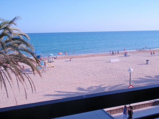 Hotel Kursaal: view from the room