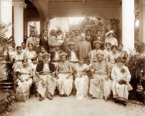 Aladeniya, Sri Lanka: One of the earliest weddings at the Mansion