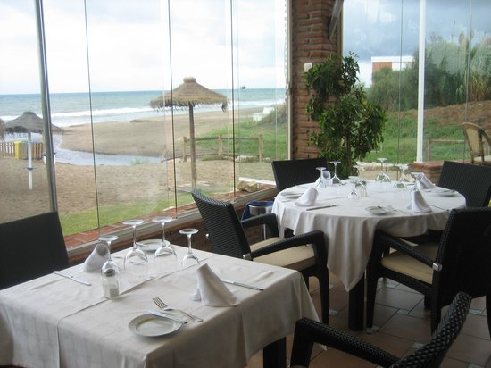 Le Papillon Restaurante & Beach Club: The view