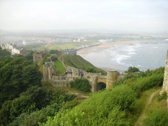 Scarborough Castle: The View
