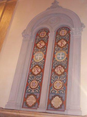 chiesa evangelica valdese - finta finestra laterale