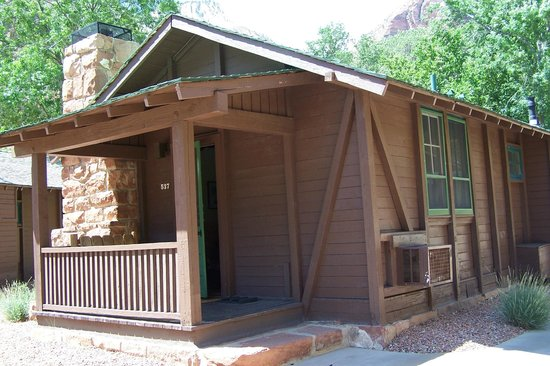 Zion Lodge : our cottage