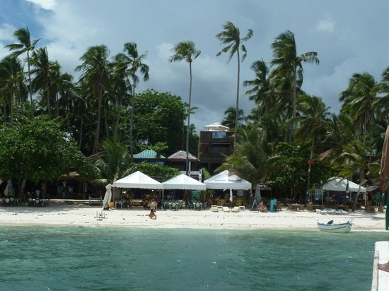 Hayahay Resort : View from the sea