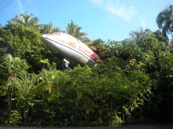 Hotel Costa Verde: El avión-suite en el jardín del hotel