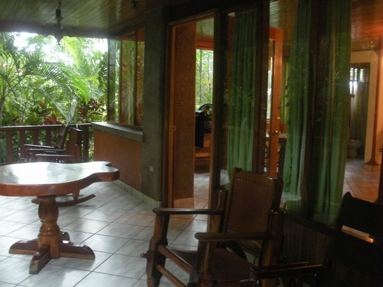Hotel Costa Verde: Habitación, terraza