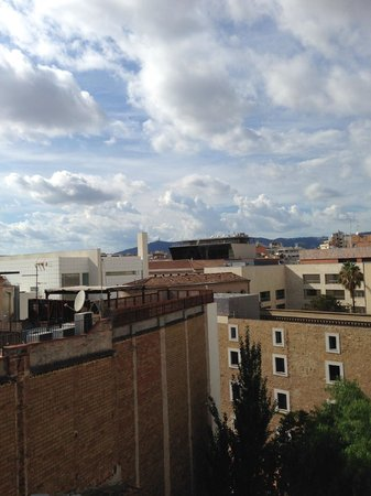 Casa Camper Hotel Barcelona: View from roof deck