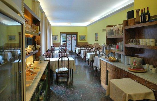 Hotel delle Rose: Restaurant - Frühstücksraum