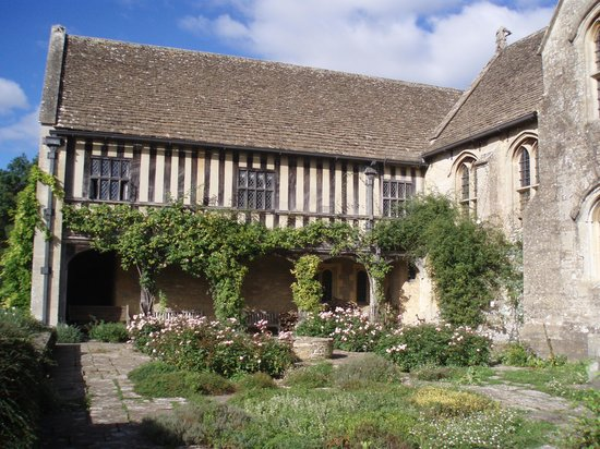 Great Chalfield Manor: Back of the Manor