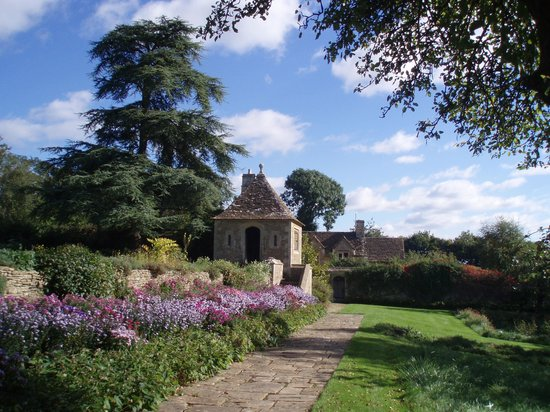 Great Chalfield Manor: Part of the garden