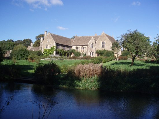 Great Chalfield Manor: From across the moat
