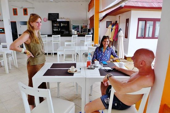 Hacienda Beach Resort : The restaurant