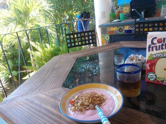 Casa Azul Puerto: Perfect breakfast moment :)