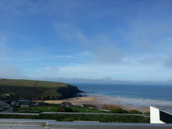 Bedruthan Hotel & Spa: Sea view from first floor bedroom