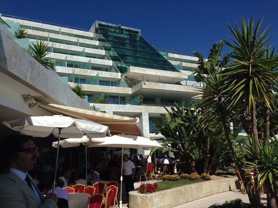 Hotel Cascais Miragem : View from the terrace