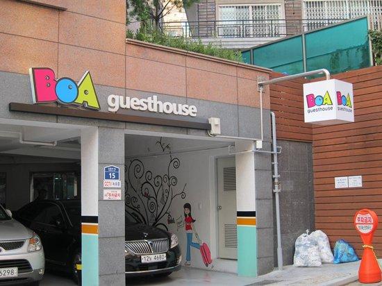 Boa travel house: Outside view
