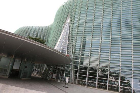 The National Art Center, Tokyo : l'ingresso
