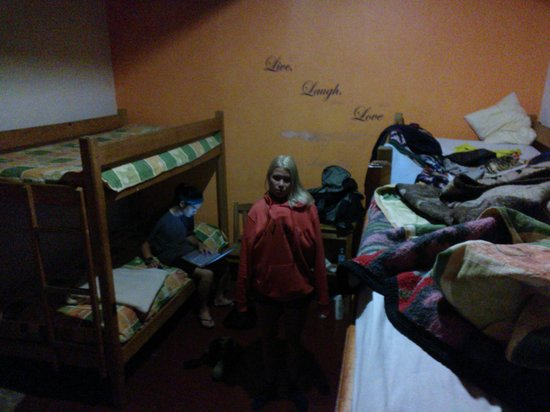 Hostel Las Palomas: Dorm, quite freezing.