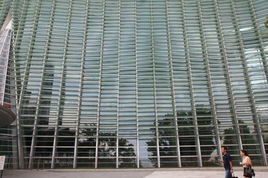 The National Art Center, Tokyo : una delle vetrate
