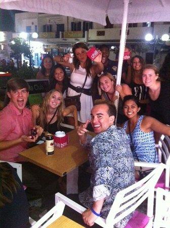 Chillbox Frozen Yogurt: For superb taste and great times at Chillbox Santorini
