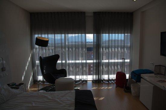 Ayre Hotel Oviedo: Habitacion 3 planta.