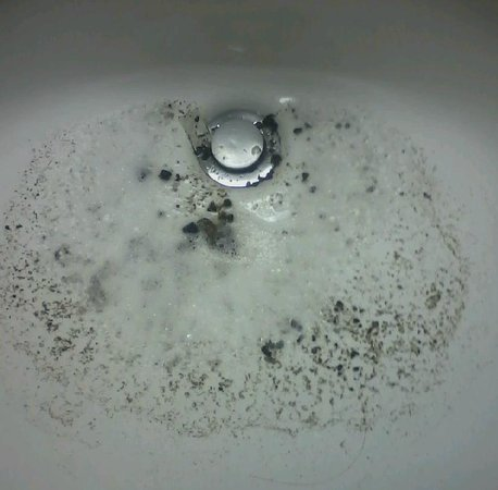 Smoky Shadows: This is what the sink belched up all night