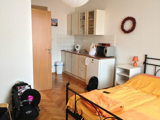 Aparthotel City 5 : Room 41-D Studio Apartment with kitchen and separating bathroom
