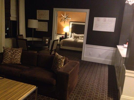 Empire Hotel: Beautiful junior suite