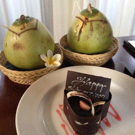 Nyuh Bali Villas: Honeymoon special welcome
