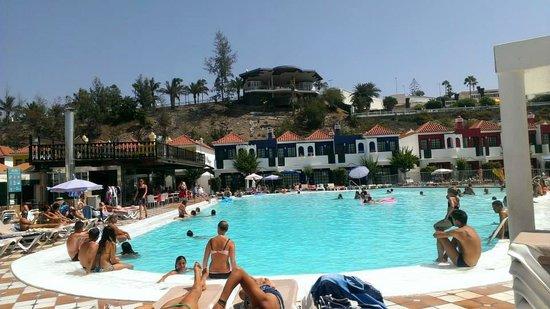 Bungalows Vistaflor: Area de la piscina