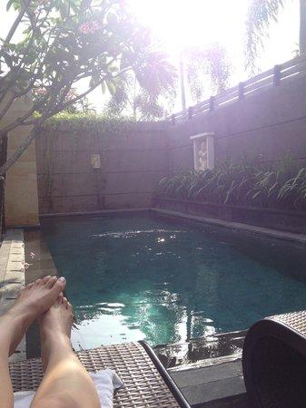 Nyuh Bali Villas: Personal pool