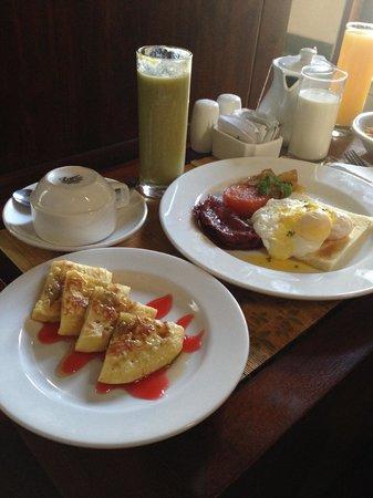 Nyuh Bali Villas: Nyuh Bali special breakfast