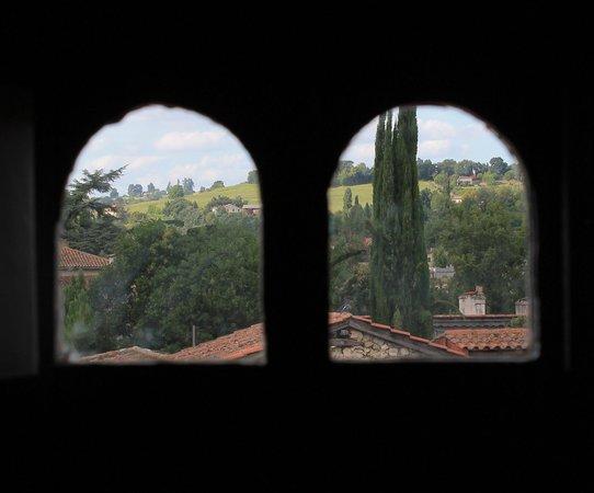 La Tour de Brazalem: Vue chambre pigeonnier
