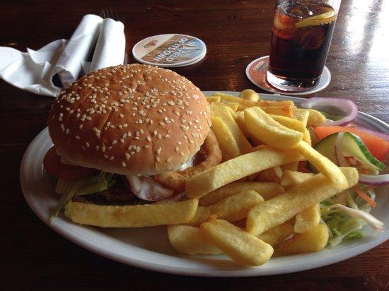 The Rummer Tavern: Lamb burger