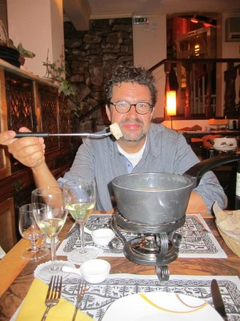 Bistro Edelweiss: first time fondue