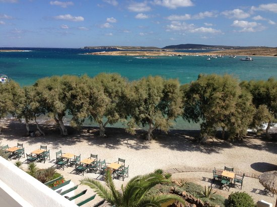 Kalypso Hotel & Apartments : view from our balcony