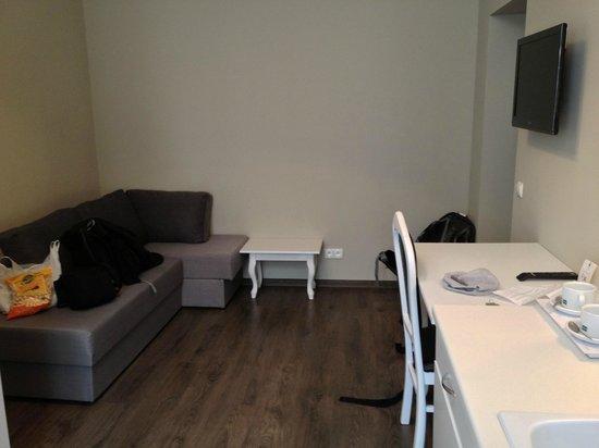 Aparthotel Leone: Room 203 - Kitchen/living area