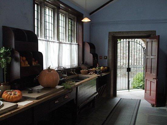 Lanhydrock House Kitchen