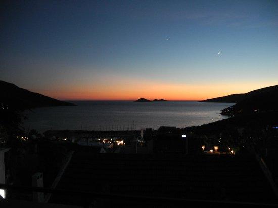 Turk Evi Eski Ev: Sonnenuntergang von Dachterrasse