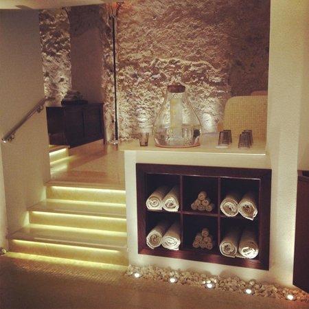 Monastero Santa Rosa Hotel & Spa: The exquisite spa