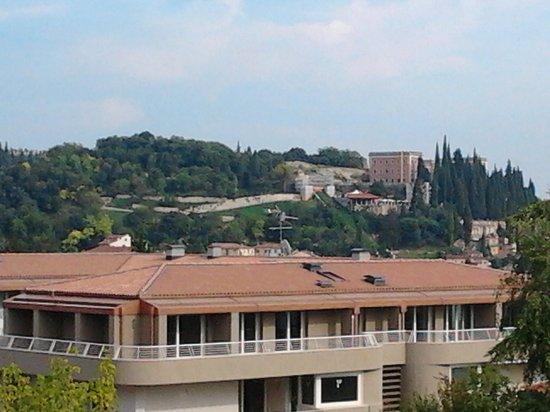 Bluroom: veduta dalla terrazza