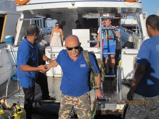 Emperor Divers Sharm El Sheikh: Wodger the Welsman