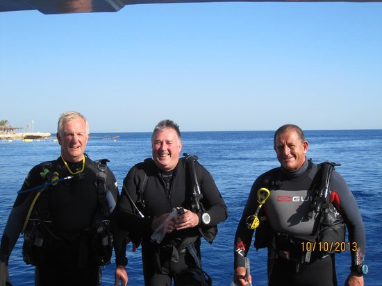 Emperor Divers Sharm El Sheikh: 3rd and last dive of the day