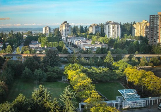 Hilton Vancouver Metrotown: View from our window