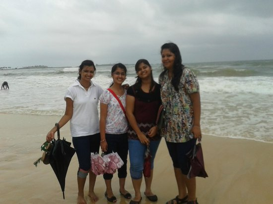 Malpe, Indien: the girls