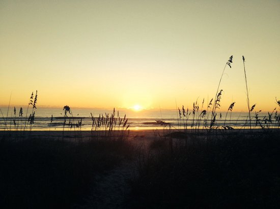 Dolphin Inn : Sunrise Atlantic side